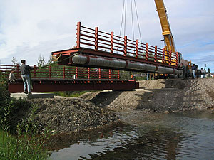 New bridge under construction